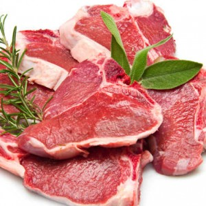 lamb loin chops raw