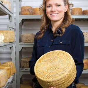 rhonda holding cheese